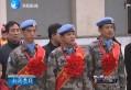 济南军区第九批赴南苏丹维和医疗队返回济南