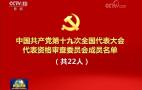 中国共产党第十九次全国代表大会代表资格审查委员会成员名单