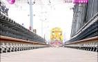 好消息!济南首条地铁R1线全线轨道