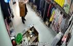 """长清:服装店内上演""""魔术式盗窃"""""""