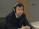 济南绿园供热公司总经理 赵晓辉和匡山热力中心副总经理 张长杰