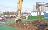 顺河快速路南延工程开工 首先开挖主隧道二号斜井