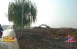 啄木鸟在行动:历城一工地渣土未覆盖 带来扬尘隐患