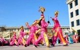 喜迎元宵节:山东三大秧歌再聚首 同台演绎民俗文化