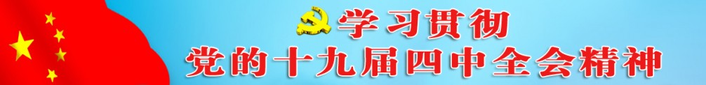 学习贯彻 党的十九届四中全会精神
