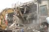 济大路20余年的临街饭店被拆 两千多平力争一天拆完