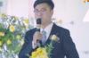 【视频】史上最忙新郎,自己主持自己的婚礼!