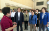 全国妇联副主席黄晓薇一行来济考察 王忠林陪同