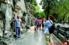 為保護文物不受損,濟南黑虎泉泉池和虎口處禁止取水