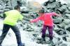 一分快3单双娃徒步川藏线一天走30多公里 最小的7岁半,最大的11岁