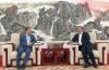 王忠林会见中国科学院院士、中国科学院高能物理研究所所长王贻芳一行