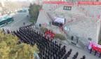 """历下区举行""""争当'济南第一团'青年突击队""""誓师大会"""