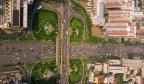 《航拍济南》济南有一座以解放军命名的立交桥