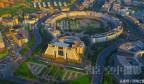无人机从济南空中飞行 在城区东部又找到一枚金戒指