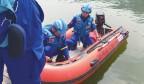 记者随蓝天救援队用声呐探测水底 揭秘济南危险水域水底结构
