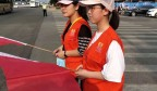 济南:志愿助力创城  增添文明色彩
