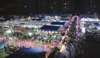 """济南实用面积最大的夜市营业,首日迎客2万多 不止""""逛吃"""",这里还有助农摊位"""