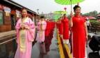 传播济南声音|章丘白云湖举办文化旅游节 凝妆旗袍百人走秀助阵