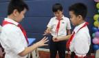 欢歌笑语献礼恩师 新老携手青蓝工程?  ——历元学校召开第36个教师节庆祝大会