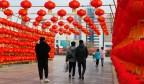 【网络中国节·春节】张灯结彩迎新春,浓浓年味扑面来!1500对红灯笼亮相莱芜街头