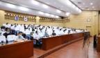 莱芜区组织收听收看全市疫情防控会议