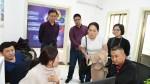 云南考察团到市中区融媒体中心参观学习