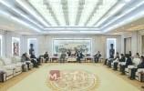 英国老朋友来了!王文涛王忠林会见英国巴斯市代表团一行