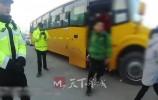 无资质开校车 竟然还超载!济南一司机被高新交警大队查了!