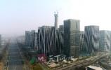 """新年新气象:每五天长一层!""""山东第一高""""汉峪金谷超高层建筑已达260米"""