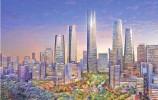 """济南CBD建设今年火力全开 """"泉""""塔楼将增高11.5米"""
