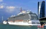 """中国首条跨东南亚六国""""一带一路""""邮轮航线将在厦门启航"""