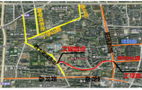济南市阳光100南侧道路(老刘长山路)道路建设3月18日开工