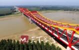 今天下午长清黄河大桥试通车 长清到聊城只需40分钟