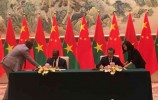 中国与布基纳法索复交:台湾是中国领土不可分割的一部分