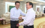 视频丨王忠林会见国家电力投资集团公司董事长、党组书记钱智民一行