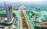 给力!西南城三条道路正赶工 老刘长山路今年年底将完工