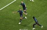 4-2!法国击败克罗地亚获得世界杯冠军