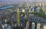 济南的香榭丽舍的大型商业体 从空中你见过吗
