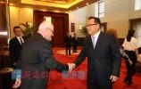 孙述涛会见南澳州贸易、旅游与投资部长李麒伟