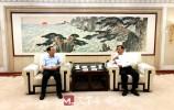 王忠林会见中国国际跨国公司促进会副会长季晓南一行