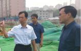 市中区督查大气污染防治工作