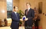 青年欧洲外交官走进乐虎国际手机版 ——国际合作再架友谊新桥梁