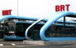 济南市历山路BRT车道施工,19日起几条公交线临时调整