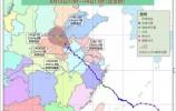 """3条雨带盘踞大江南北 14日至15日""""摩羯""""或在豫皖鲁交界滞留"""
