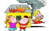 【视频】家中着大火,身边的它,竟成了救火英雄...
