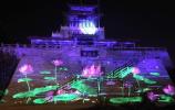 濟南解放閣亮化來了!3D裸眼燈光秀節后市民就可免費看!