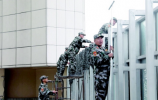 济南人防首次演练重要经济目标防护 无人机模拟敌机低空预警雷达侦察