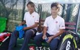 省运会网球单项决赛 济南男双选手2:0战胜滨州选手夺得金牌!?