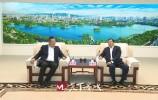 王忠林会见华侨城集团、万科集团客人