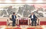 王忠林会见全国政协委员、远洋集团董事局主席、总裁李明一行